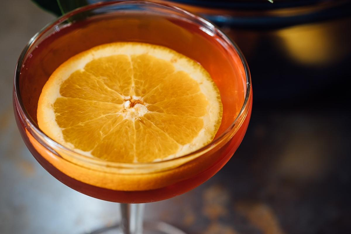 cocktail avec orange
